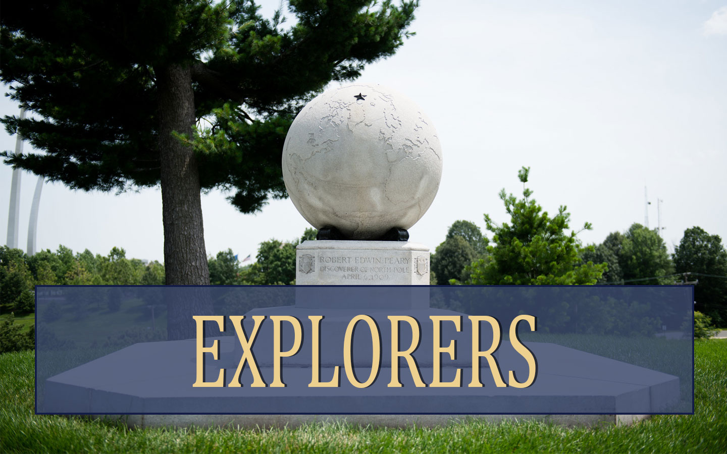 Explorers at Arlington National Cemetery