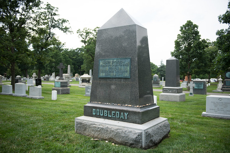 Gravestone of Abner Doubleday