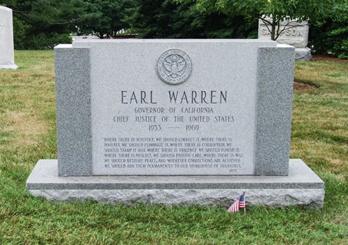 Chief Justice Earl Warren Memorial