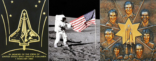 Collage of Astronauts