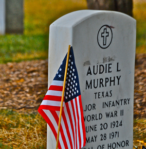 Grave of Audie Murphy