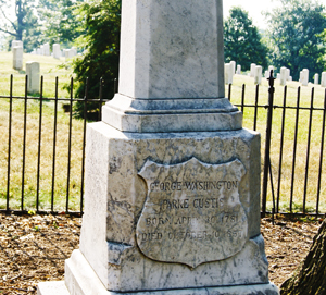George Washington Parke Custis gravesite